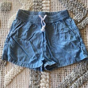 Girls chambray shorts